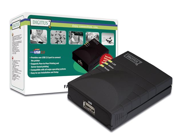 Εικόνα PRINT SERVER DIGITUS 1 USB2.0 PORT