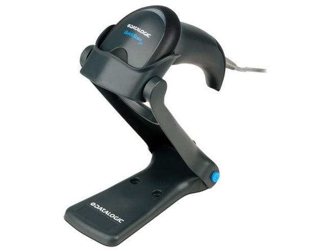 Εικόνα ΕΠΩΝΥΜΟ BARCODE Datalogic QuickScan 2120 με διασύνδεση USB και Βάση