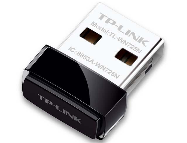 Εικόνα WIRELESS ADAPTER TP-LINK TL-WN725N USB v3