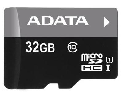 Εικόνα MICRO SD ADATA 32GB CLASS10 UHS-I AUSDH32GUICL10-RA1