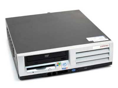 Εικόνα Επώνυμος Υπολογιστής Compaq EVO D510 Μικρού Μεγέθους Με Επεξεργαστή P4 1.5 έως 2.0Ghz.