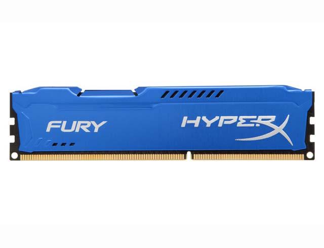 Εικόνα Μνήμη RAM HyperX Fury Blue 4GB DDR3-1600MHz (HX316C10F/4)