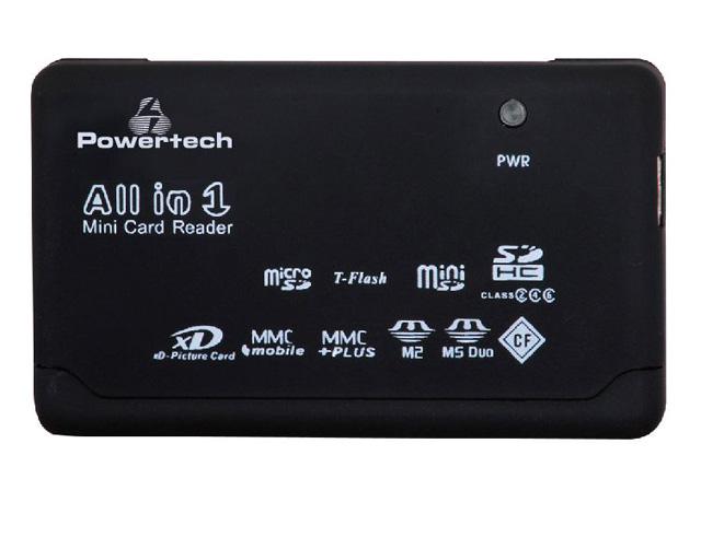 Εικόνα All in One Card Reader Powertech (PT-109)