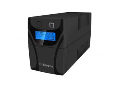 Εικόνα Bitmore Line UPS U650LCD