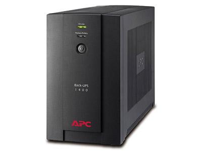 Εικόνα UPS APC Back-UPS 1400VA - BX1400U-GR (Schuko)