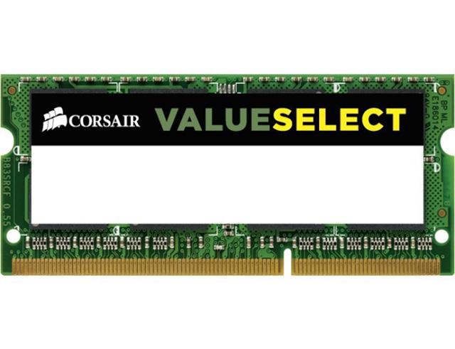 Εικόνα RAM CORSAIR DDR3 4GB 1333MHZ SODIMM LV