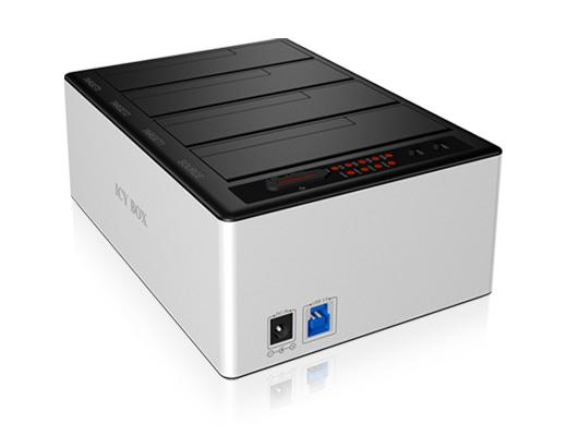 Εικόνα USB3 D.STAT. ICY BOX IB-141CL-U3 4XSATA