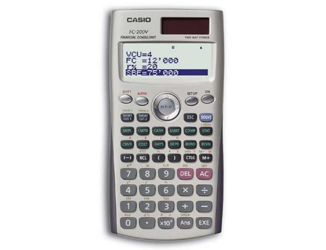 Εικόνα Αριθμομηχανή CASIO 10-FC-200V