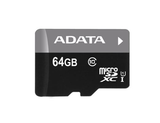 Εικόνα MICRO SD ADATA 64GB CLASS10