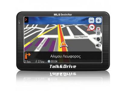 Εικόνα MLS Destinator 510M Talk & Drive με χάρτες Ελλάδας και Κύπρου