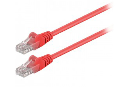 Εικόνα 68344 CAT 5E U/UTP PATCH CABLE 1M RED