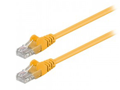Εικόνα 68341 CAT 5E U/UTP PATCH CABLE 1M YE
