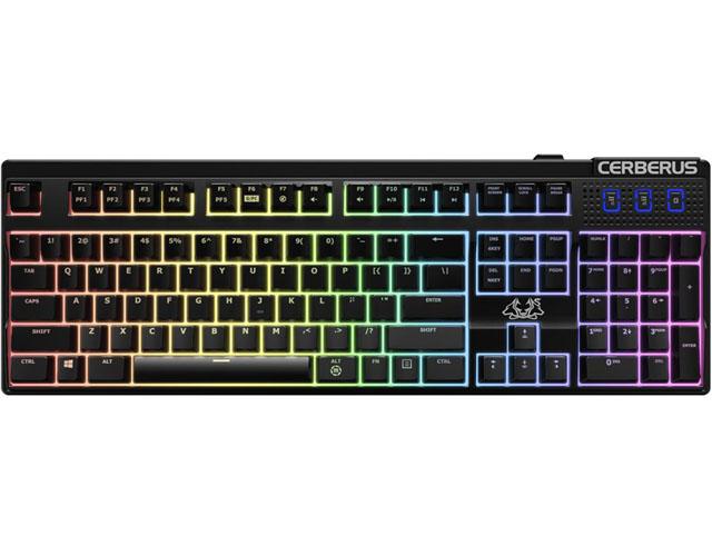 Εικόνα Gaming Keyboard Asus Cerberus Mech Red (90YH0191-B2UA00)