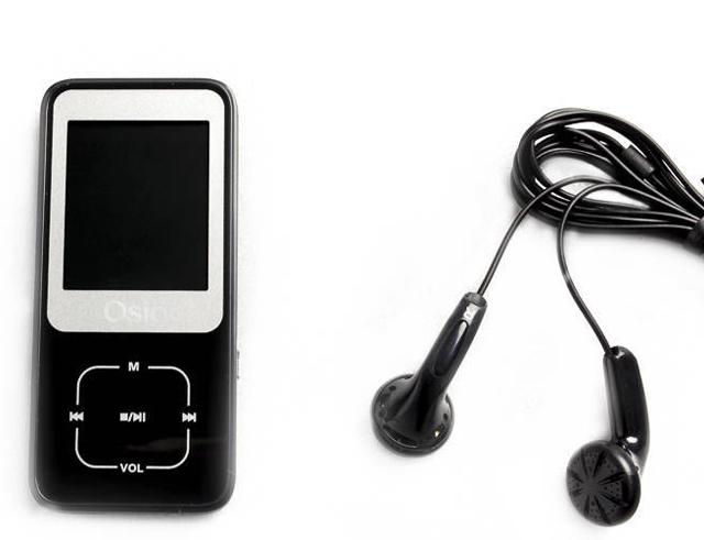 Εικόνα Osio SRM-8380B MP4 / MP3 Player Μαύρο 8GB