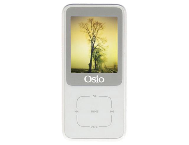 Εικόνα Osio SRM-8380B MP4 / MP3 Player Λευκό 8GB