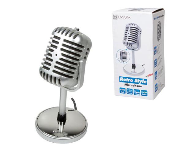 Εικόνα Retro Style Microphone Logilink HS0036