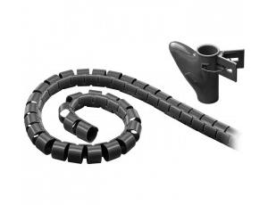 Εικόνα Σπιράλ σωλήνας διαχείρισης καλωδίων, 2.5 m, μαύρο GOOBAY 51924