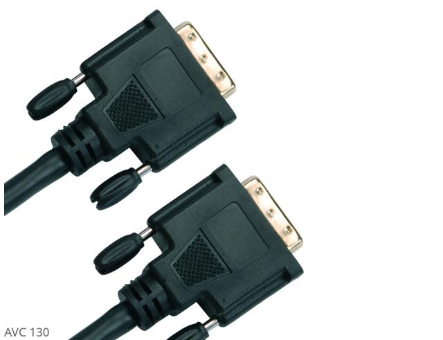 Εικόνα AVC 130 DVI-D CABLE BLACK, 2.0M