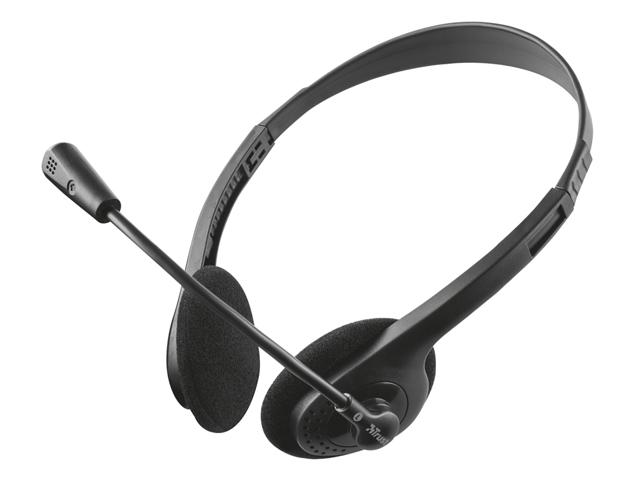 Εικόνα Headset Trust Primo (21665) - 3.5mm - Black