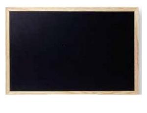 Εικόνα Πίνακας κιμωλίας Morexpor 60x90 μαύρος