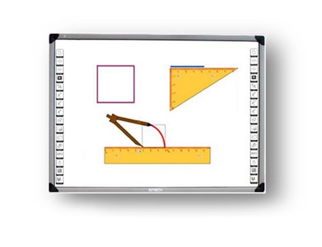 Εικόνα Διαδραστικός Πίνακας INTECH TI-4187W