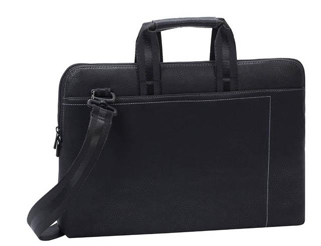 """Εικόνα Τσάντα ώμου Rivacase 8930 15,6"""" για notebook σε χρώμα μαύρο"""