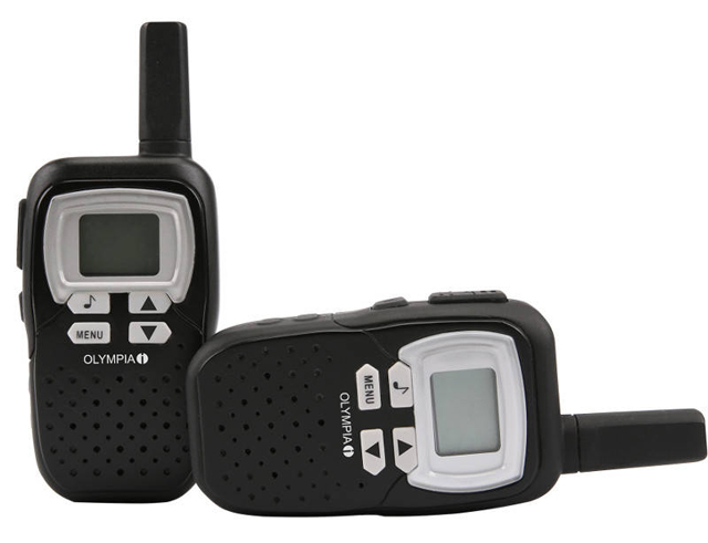 Εικόνα Walkie Talkie Olympia 1208 pmr 8km black