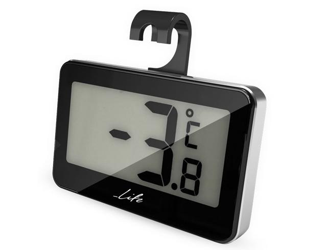 Εικόνα Ψηφιακό θερμόμετρο χώρου Life wes-104 black
