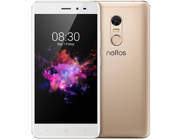 """Εικόνα Smartphone Neffos X1 Lite Dual Sim 5"""" 16GB - Χρυσό"""