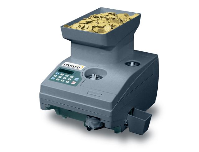 Εικόνα Μηχανή καταμέτρησης Procoin coin 100