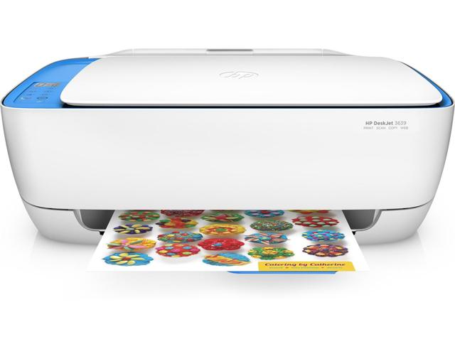 Εικόνα Πολυμηχάνημα All in One HP DeskJet 3639 - Ποιότητα εκτύπωσης 4800 x 1200 dpi - Ταχύτητα εκτύπωσης 8.5ppm - USB/WiFi