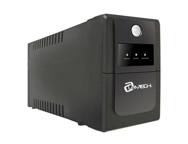 Εικόνα Lamtech Lam041317 UPS με AVR, CPU 12V7AH 2 schuko socket K650VA