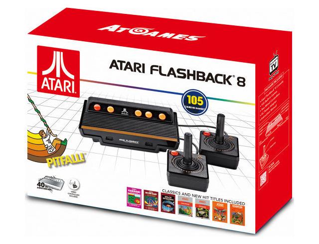 Εικόνα Κονσόλα Retro Atari Flashback 8 (Περιλαμβάνει 105 ενσωματωμένα παιχνίδια)
