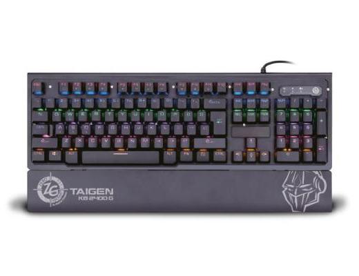 Εικόνα Mechanical Gaming Keyboard Zeroground KB-2400G TAIGEN v2.0