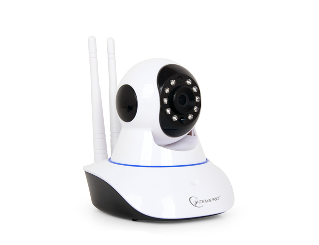 Εικόνα Ρομποτική WiFi IP Camera Gembird CAM-WRHD-01 - HD - White