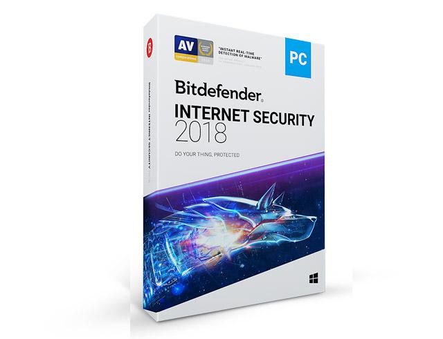 Εικόνα BitDefender Internet Security 2018 -  3PC - 1 Mobile Security - 1 Year