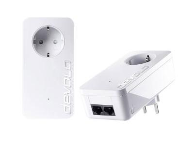 Εικόνα Powerline Devolo dLAN 1000 Duo+ Starter Kit Passthrough (8117)
