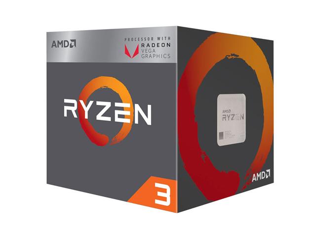 Εικόνα Επεξεργαστής Ryzen 3 2200G (AM4, 3.70GHz, 6MB)