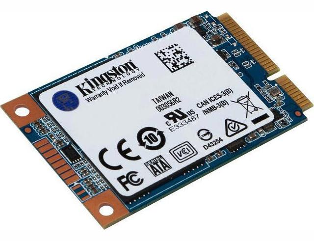 Εικόνα Δίσκος SSD Kingston UV500 mSATA - 120GB