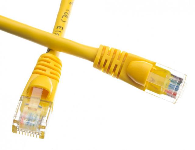 Εικόνα Καλώδιο UTP cat6 0.5m κίτρινο