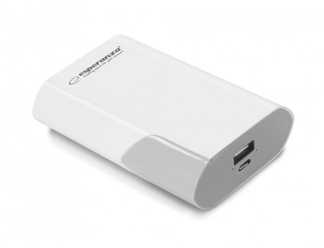 Εικόνα Powerbank Esperanza Boson 6000mah white/grey