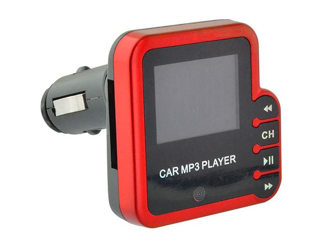 Εικόνα Ψηφιακό FM trasmitter Lamtech lam020298 με remote control red