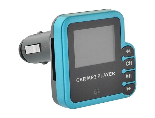 Εικόνα Ψηφιακό FM trasmitter Lamtech lam020298 με remote control blue