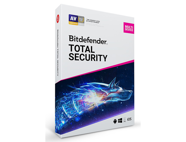 Εικόνα Bitdefender Total Security Multi Device - 10 Devices - 1 Year