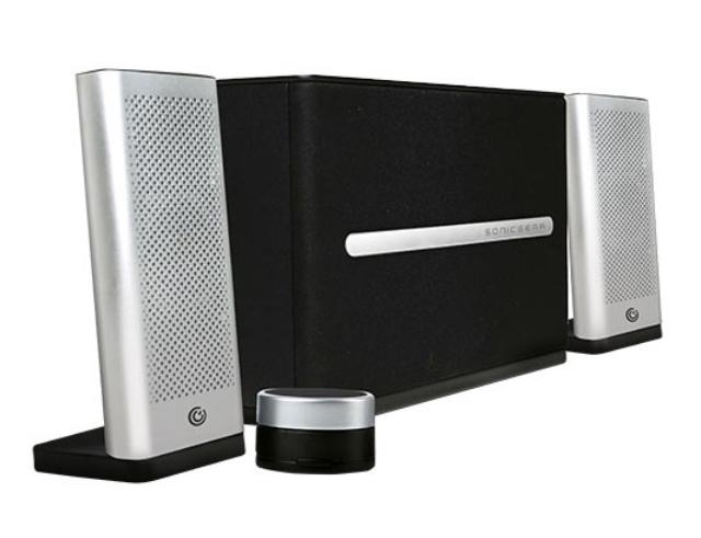 Εικόνα Ηχεία HI-FI Bluetooth Sonic Gear 2,1 Space 7 silver