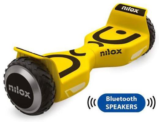 Εικόνα Hoverboard Nilox Doc 2 Plus 6.5 με Bluetooth και audio speakers (yellow)