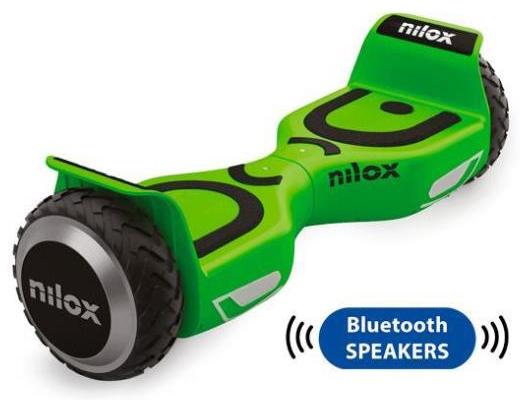 Εικόνα Hoverboard Nilox Doc 2 Plus 6.5 με Bluetooth και audio speakers (lime green)