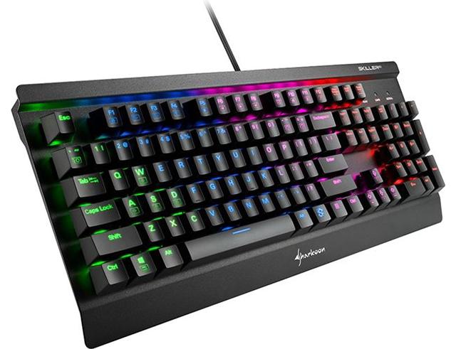 Εικόνα Gaming Keyboard Sharkoon Skiller SGK3 (Kailh red)
