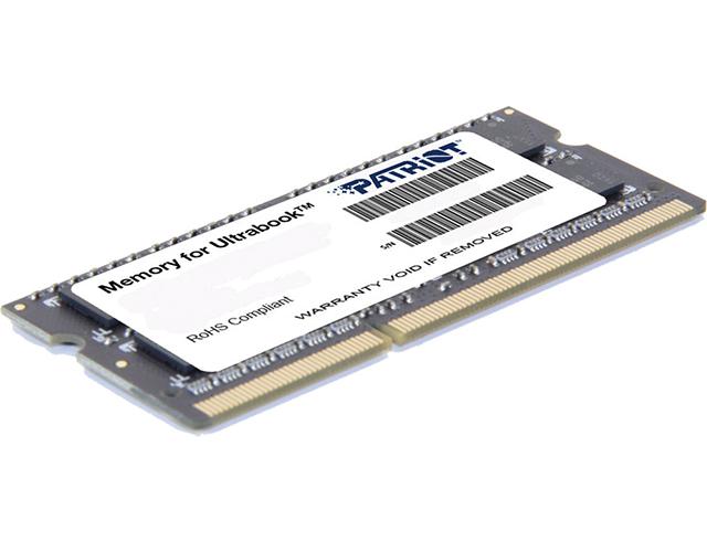 Εικόνα Μνήμη RAM Patriot 4GB DDR3-1600MHz (PSD34G1600L2S)