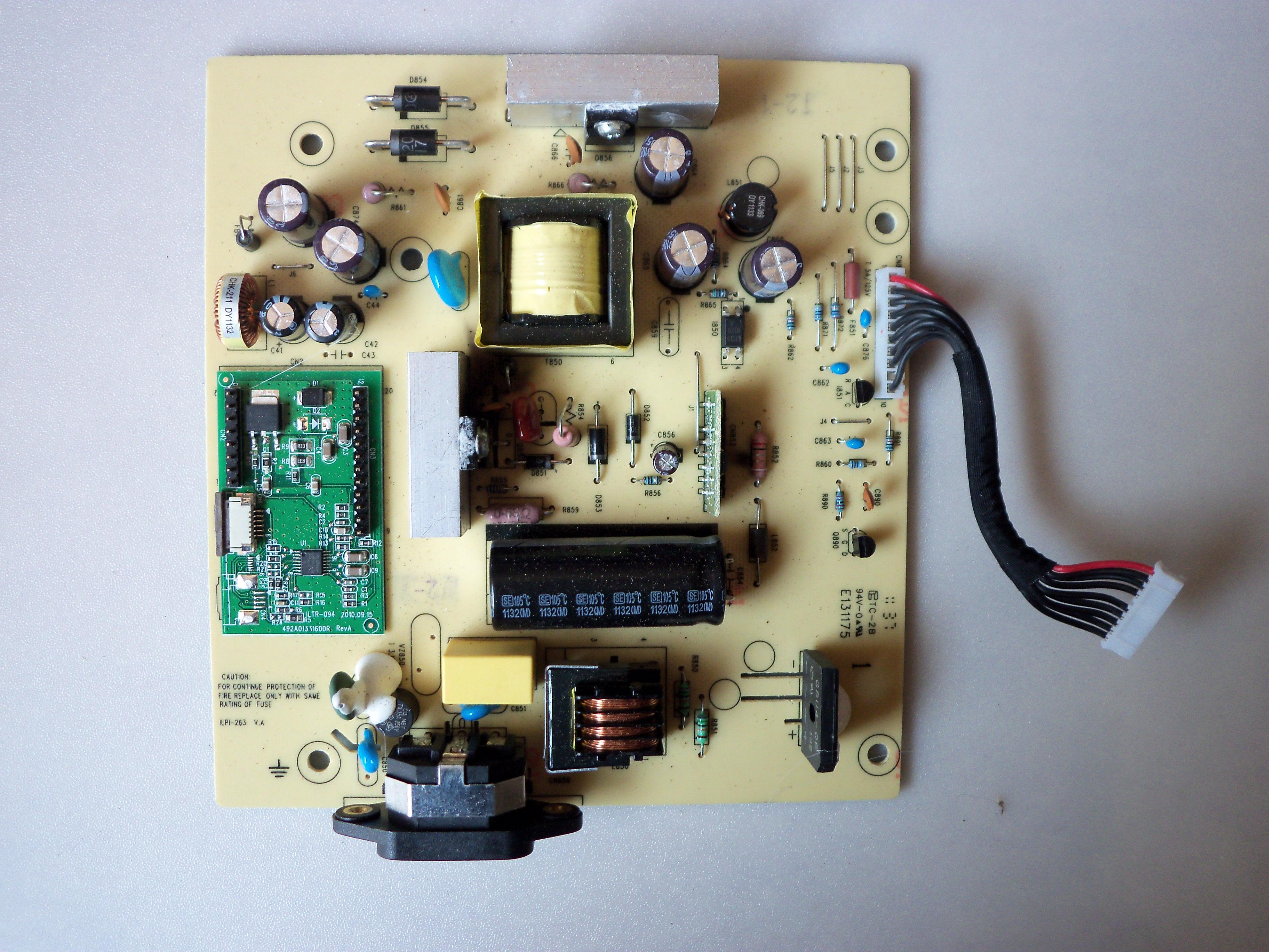 """Εικόνα Power board Hp la2206 22"""""""